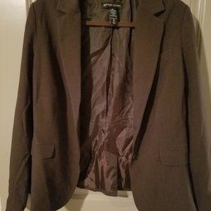 Chocolate brown blazer
